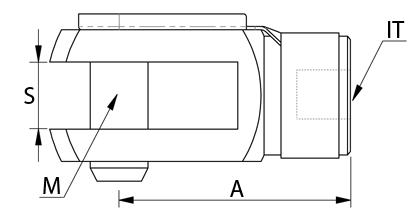 Teknisk ritning - Gaffel