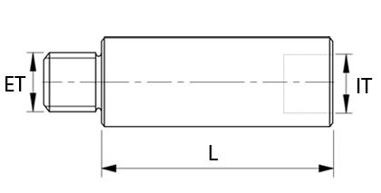 Teknisk ritning - Förlängare