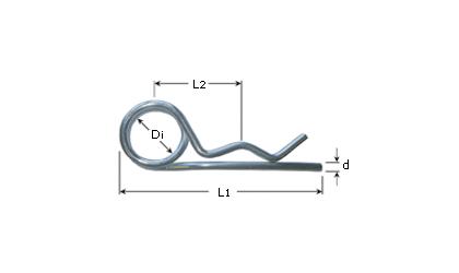 Teknisk ritning - Dobbelsprintar - Galvaniserade